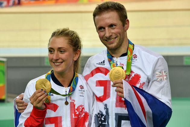 Jason Kenny and Laura Trott, Rio 2016 Olympic Games (Watson)
