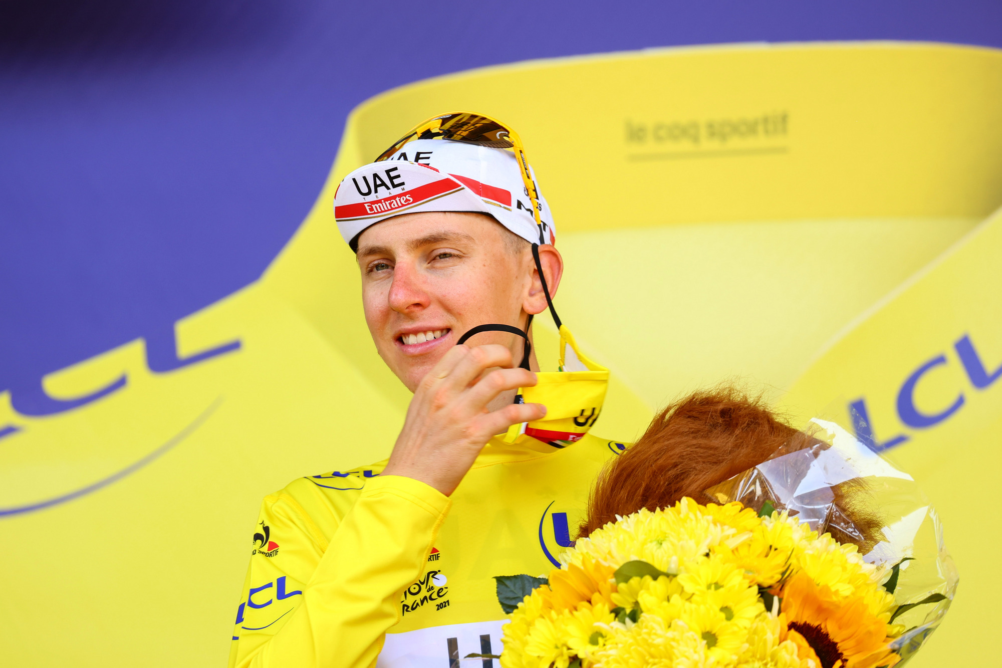 Tadej Pogacar continues to lead the 2021 Tour de France after stage 13