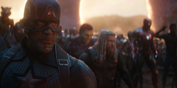 Captain America assembling the Avengers