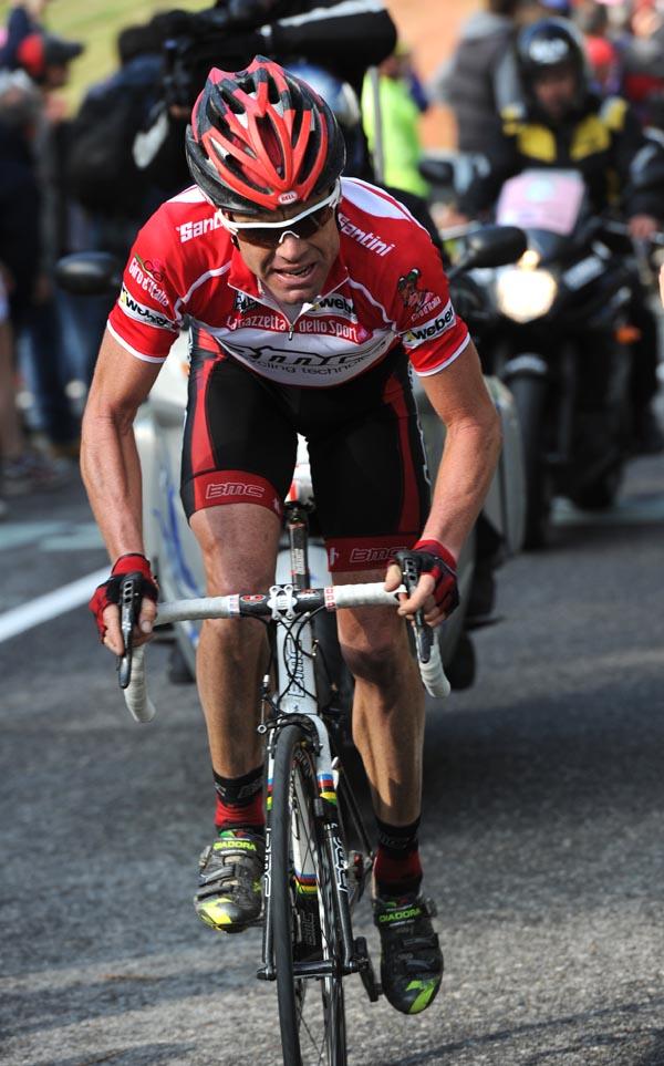 Cadel Evans attack, Giro d'Italia 2010, stage 20