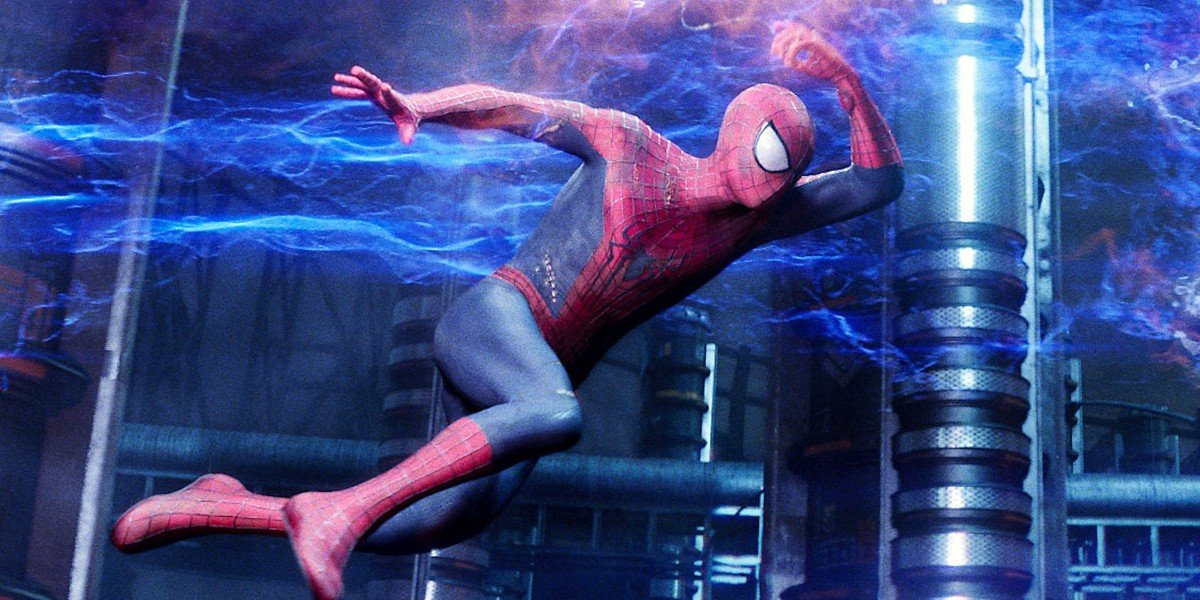 Spider-Man leaping