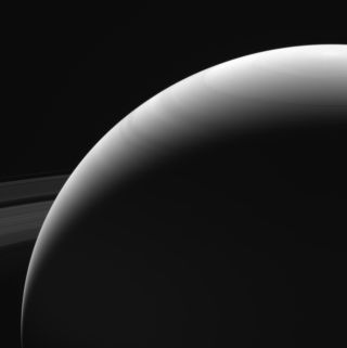 One of Cassini's Farewell Views of Saturn