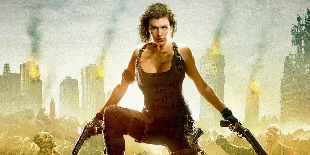Milla Jovovich on Resident Evil: The Final Chapter poster