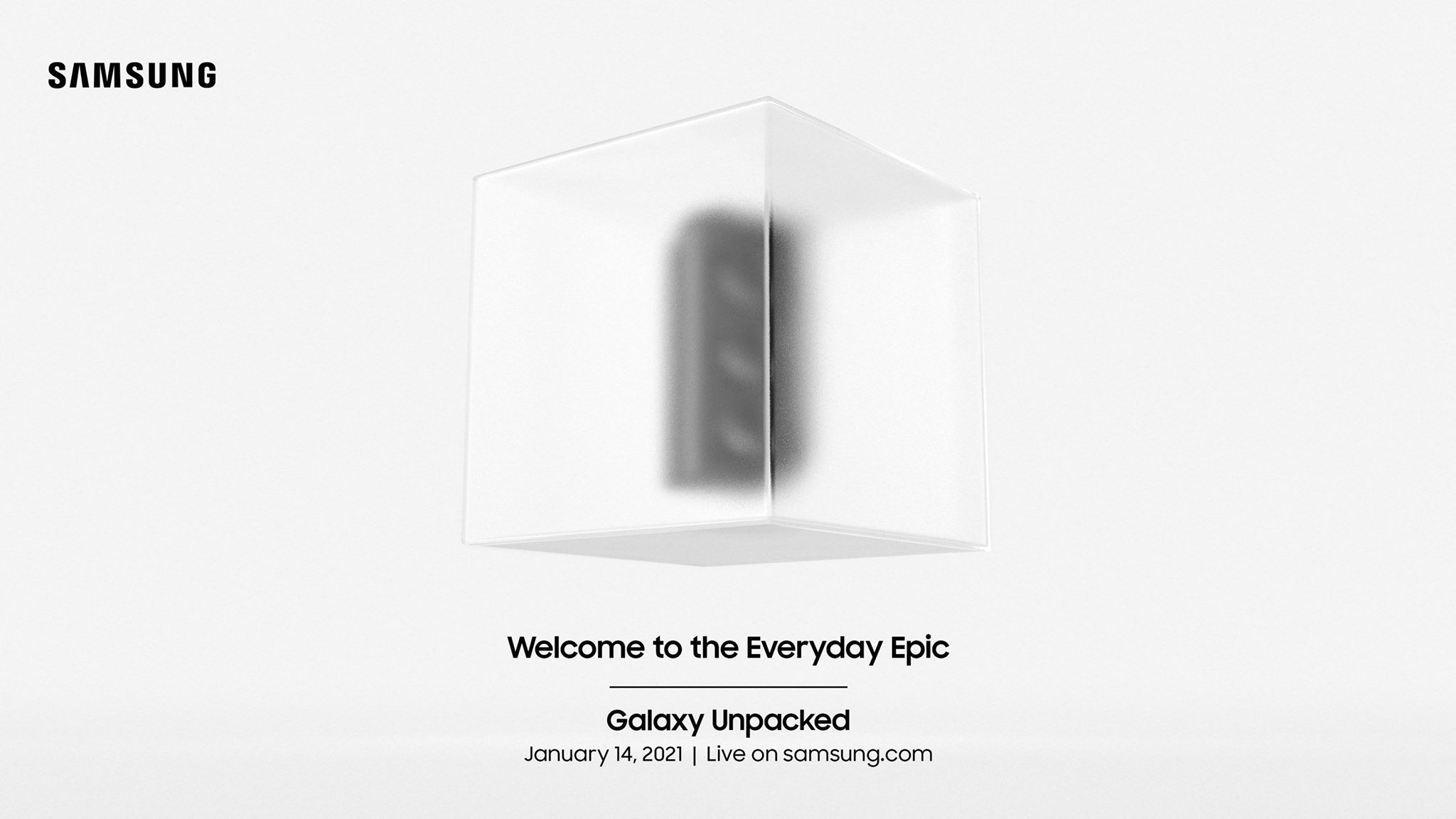 Samsung Galaxy S21 launch event