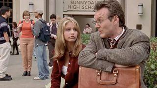 Sarah Michelle Gellar and Anthony Stewart Head in Buffy the Vampire Slayer