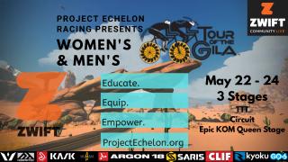 Virtual Tour of the Gila on Zwift