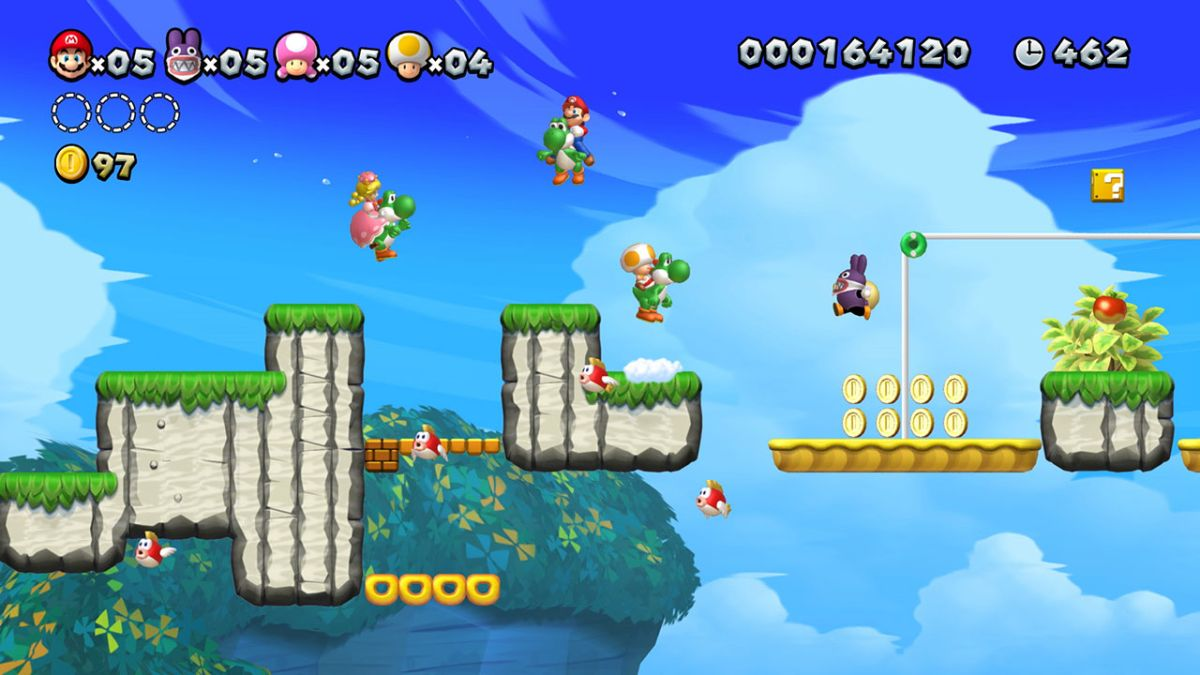 New Super Mario Bros U Deluxe review: 2D Mario title gets