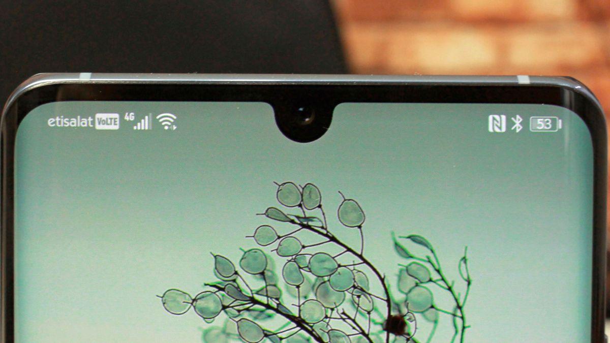 Huawei P40 Pro kan enligt läckt bild få ett enormt skärmhål för den främre kameran