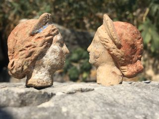 Some of the figurines didn't have bodies, suggesting there were other terracottas to be found in the area.