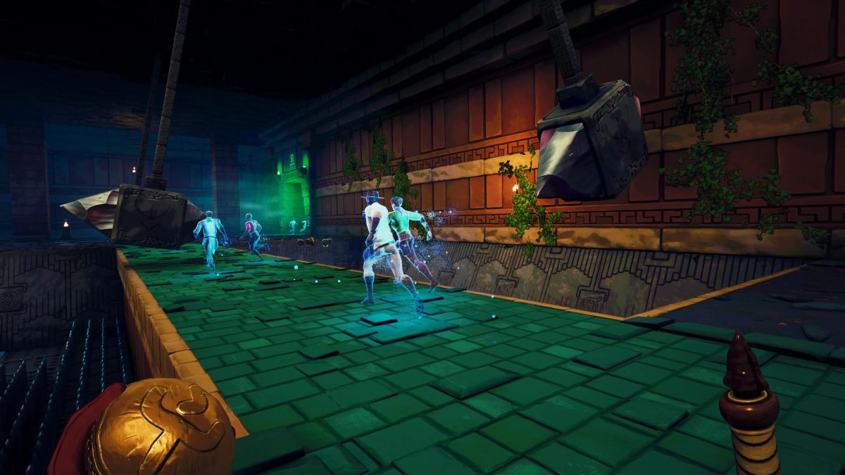 Phantom Abyss is a whip-based platformer where you learn from the ghosts of fallen players