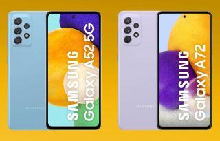 Galaxy A52 and Galaxy A72