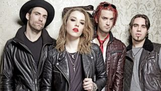 A promotional picture of Halestorm
