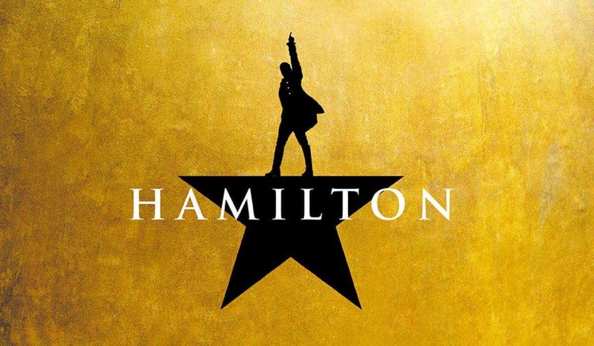 Hamilton musical logo