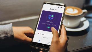 Mozilla VPN on a Smartphone