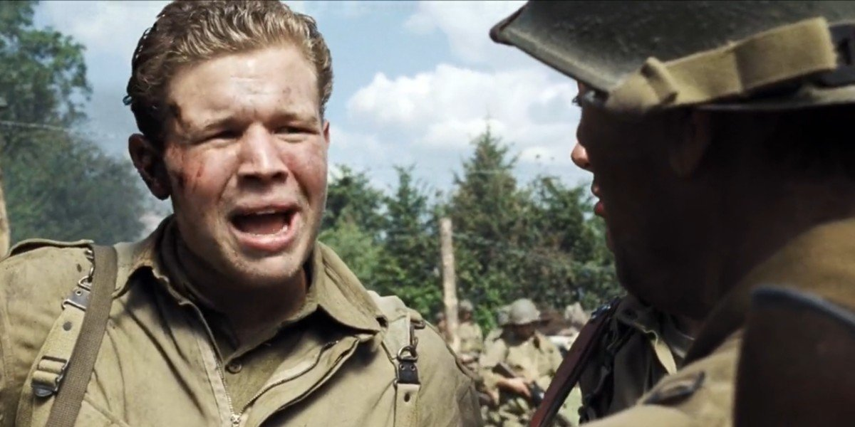 Ryan Hurst in Saving Private Ryan