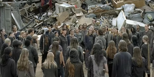 Rick Survivors Heapsters The Walking Dead AMC