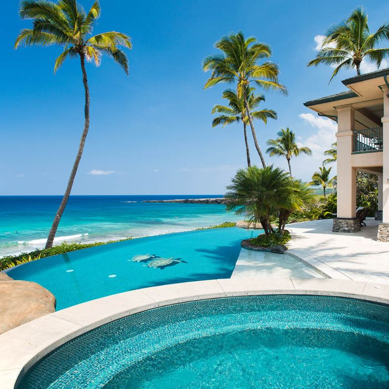 Houses with great views: Hale Ali'i villa, Hawai'i, United States