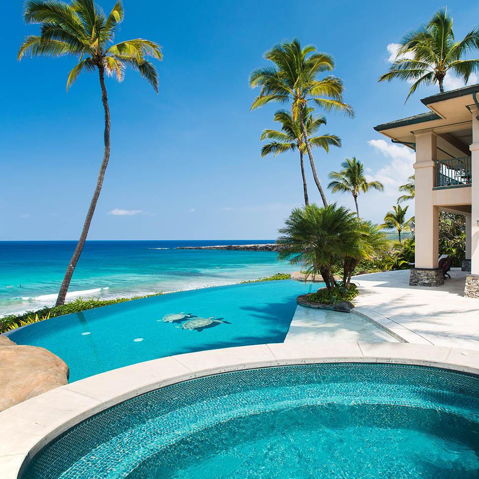 Houses with great views: Hale Ali'i villa, Hawai'i, United States
