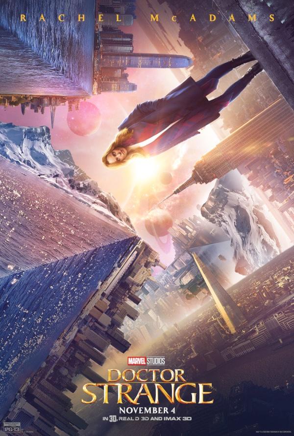 Rachel McAdams Doctor Strange poster