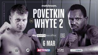 Matchroom Boxing presents Alexander Povetkin vs. Dillian Whyte 2
