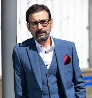 Raji James plays doctor Ali Shahzad.