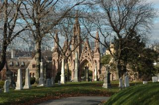 Green-Wood Cemetery in Brooklyn