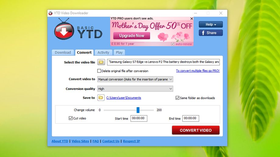 YTD Video Downloader review and where to download review