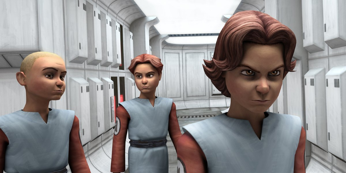 Boba Fett and other clones on Star Wars: The Clone Wars