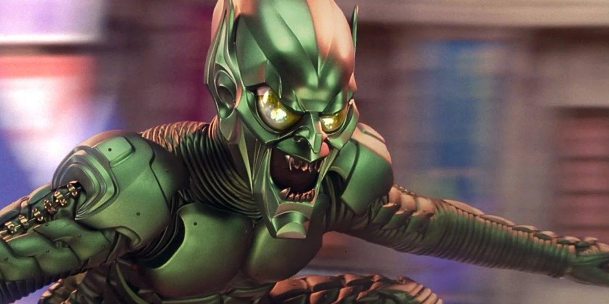 Willem Dafoe as Green Goblin in Spider-Man