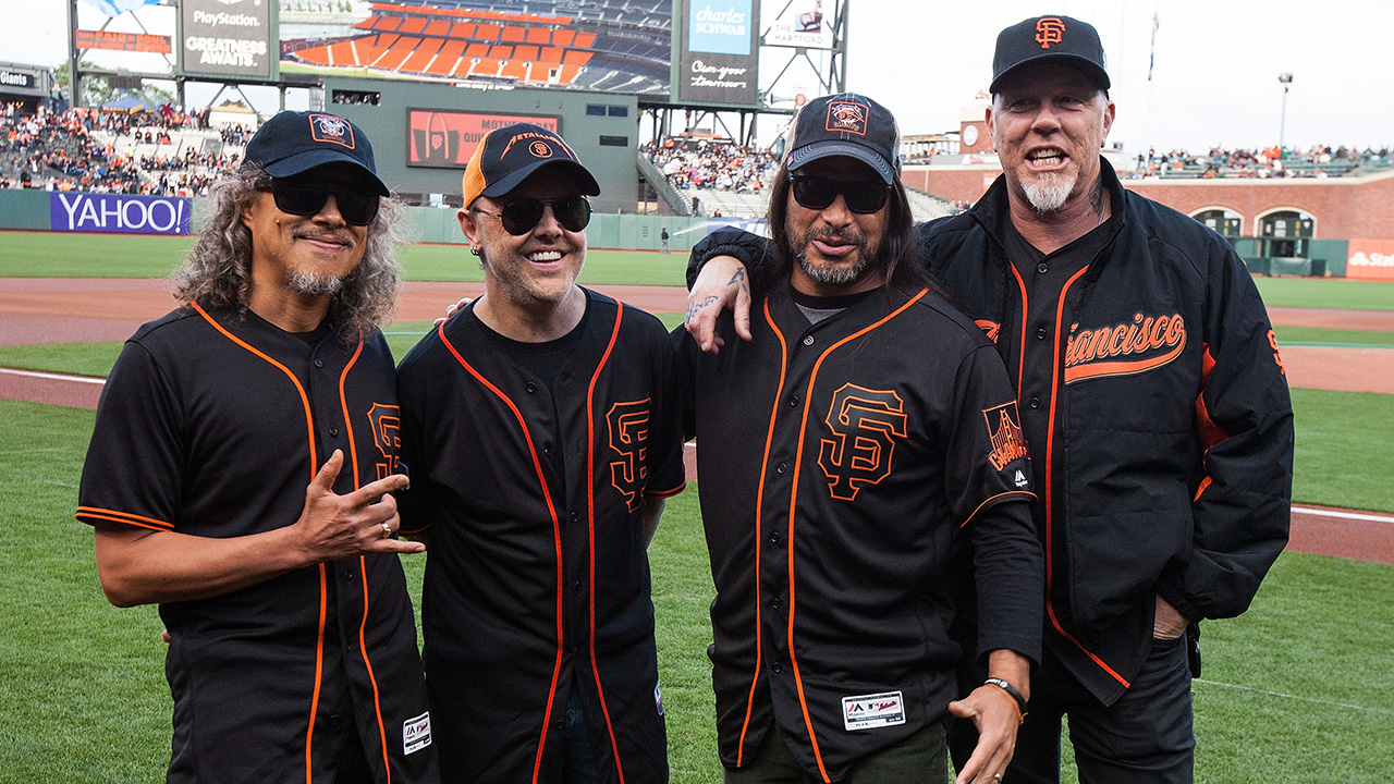Metallica will join the San Francisco Giants in April for another