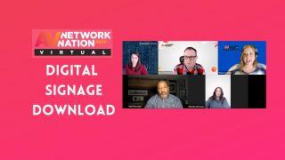 AV Network Nation panel Digital Signage Download