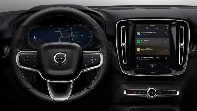 Volvo XC40 Recharge and Android Automotive