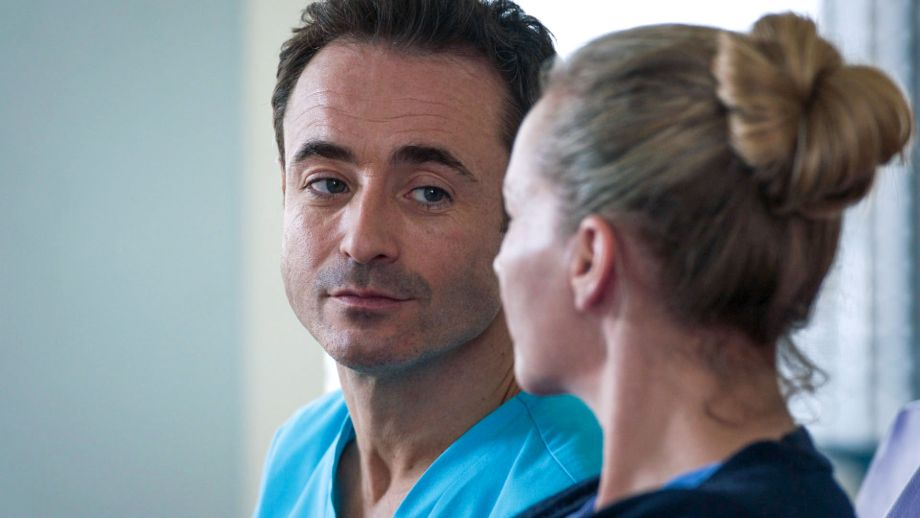 Joe McFadden plays Raf Di Lucca in Holby City