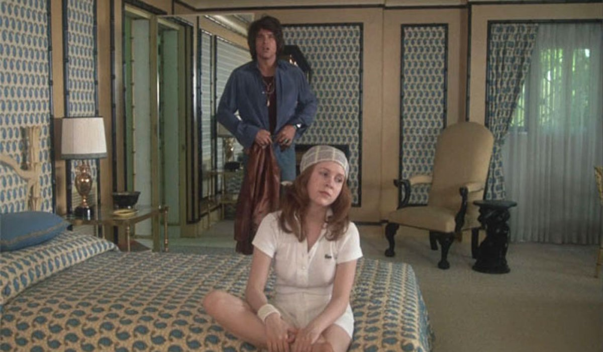 Carrie Fisher and Warren Beatty in Shampoo