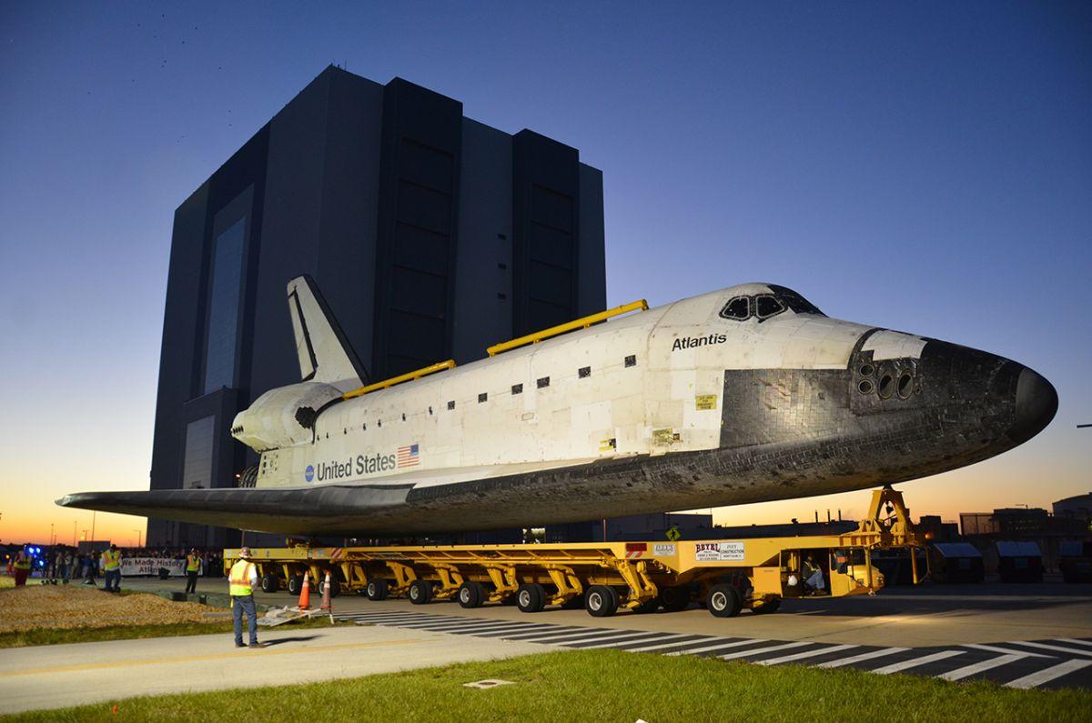 space shuttle atlantis building - photo #7