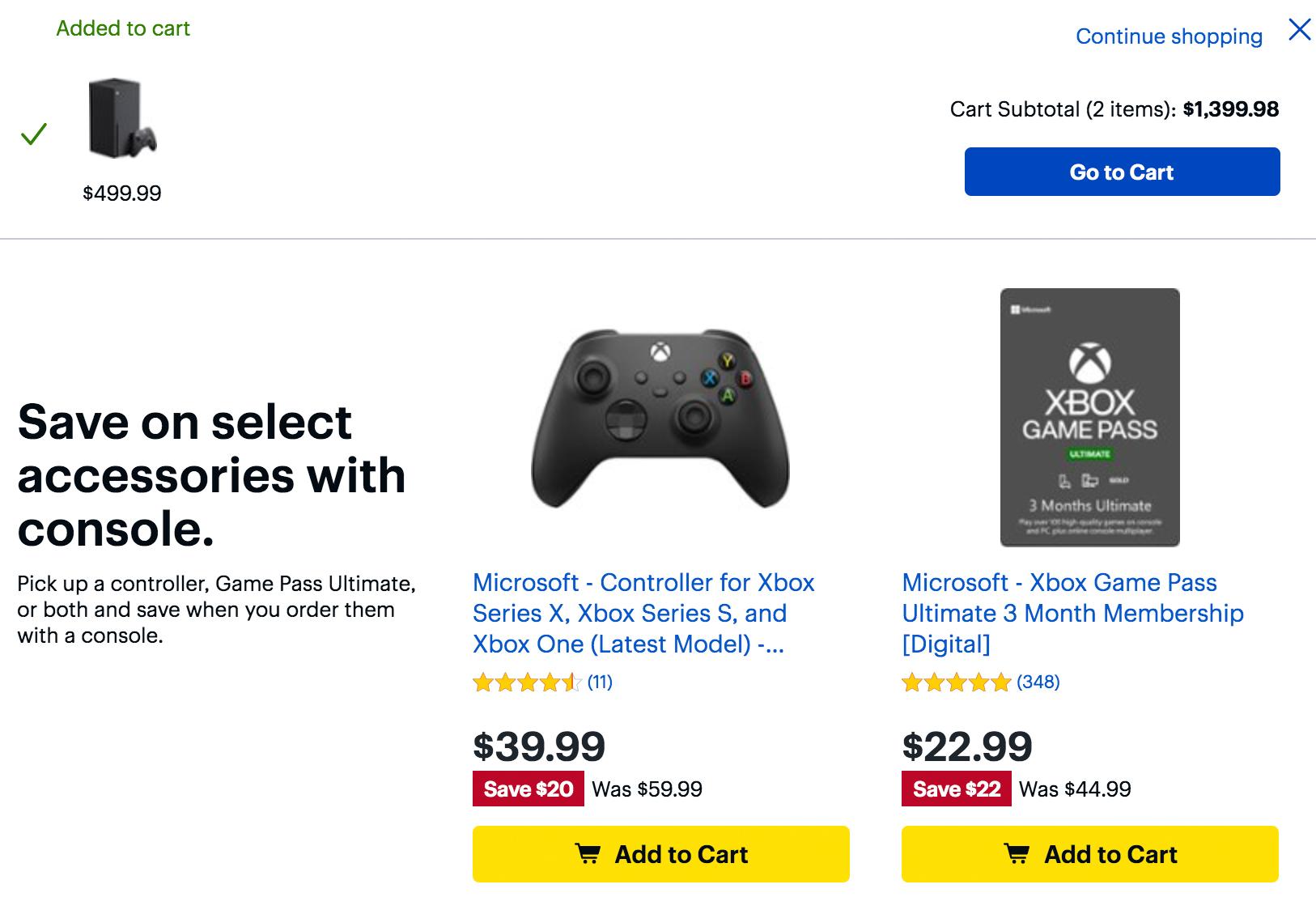 Xbox Series X Best Buy