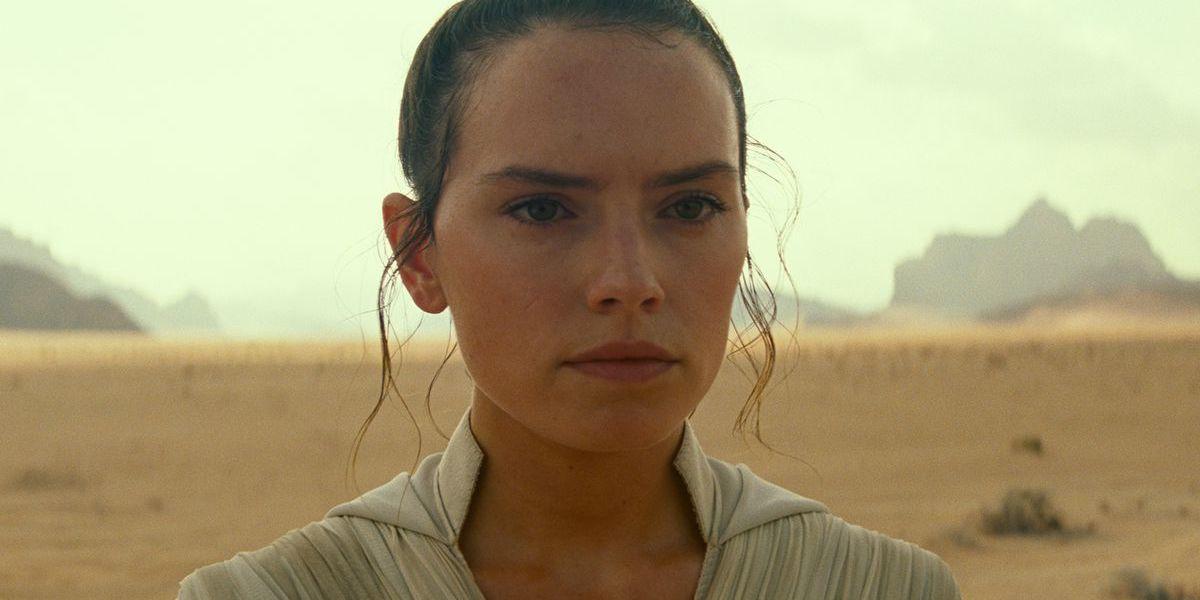 Daisy Ridley as Rey Skywalker in Star Wars: Rise of Skywalker