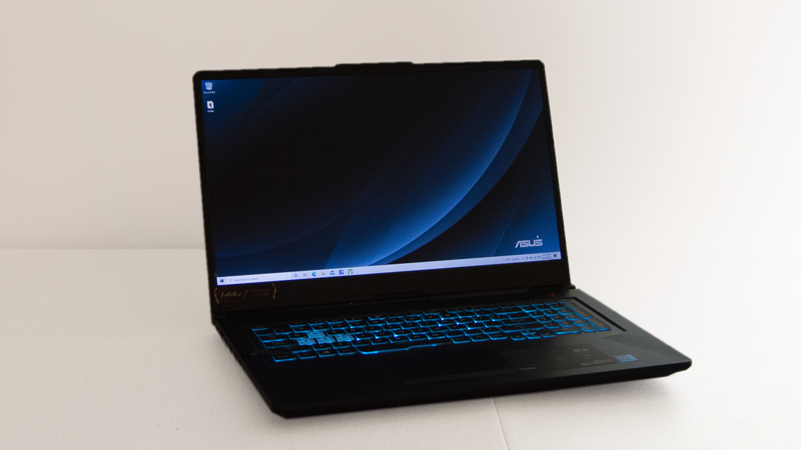 Asus TUF Gaming F17 Review: Big Screen, Modest Muscle