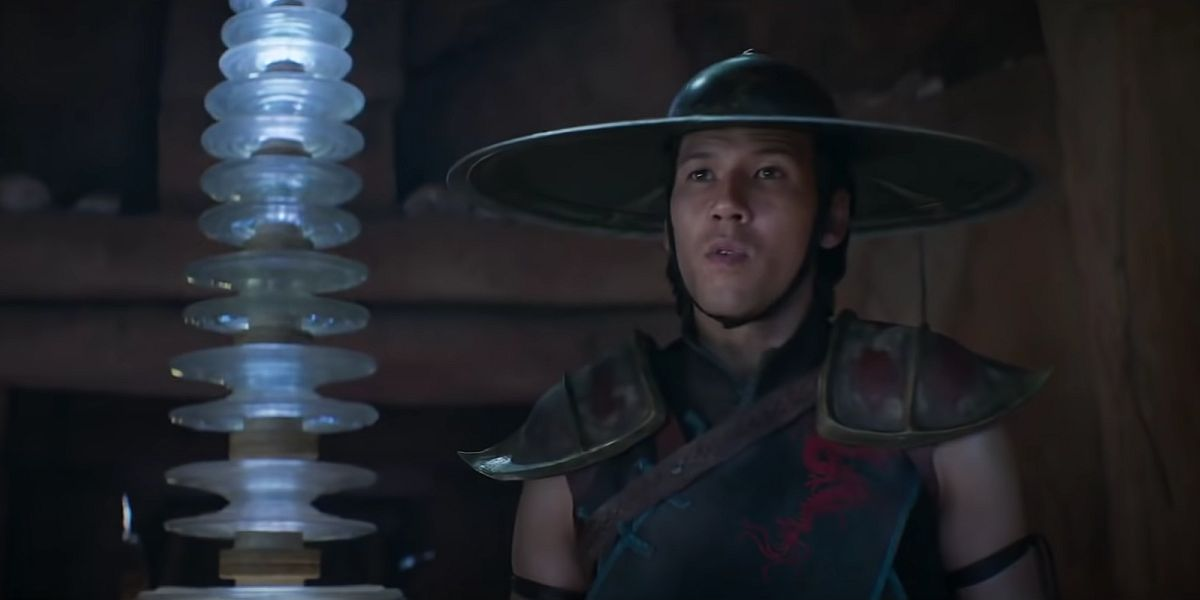 Raiden in Mortal Kombat