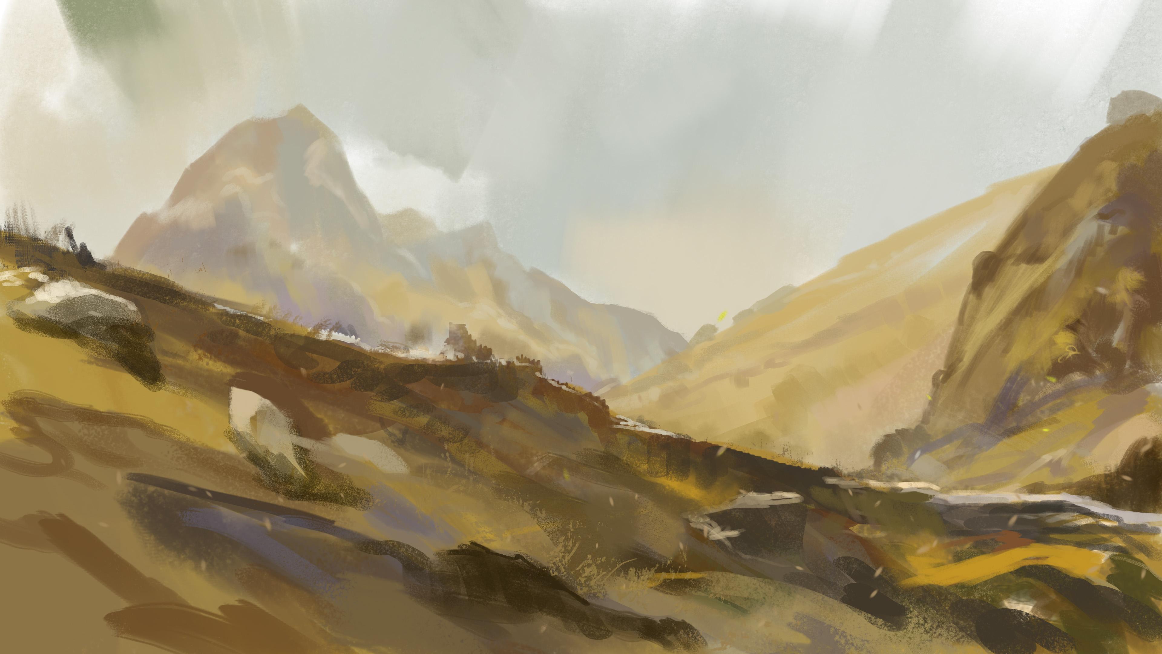 Untitled Highland Game concept