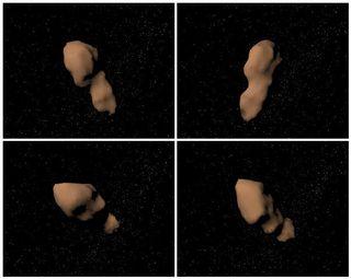 Asteroid Toutatis 110711