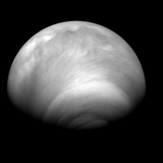 Venus Mysteries Blamed on Colossal Collision