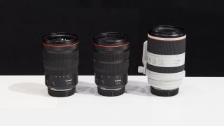 Canon to release 'Holy Trinity' lenses for RF mount in July?