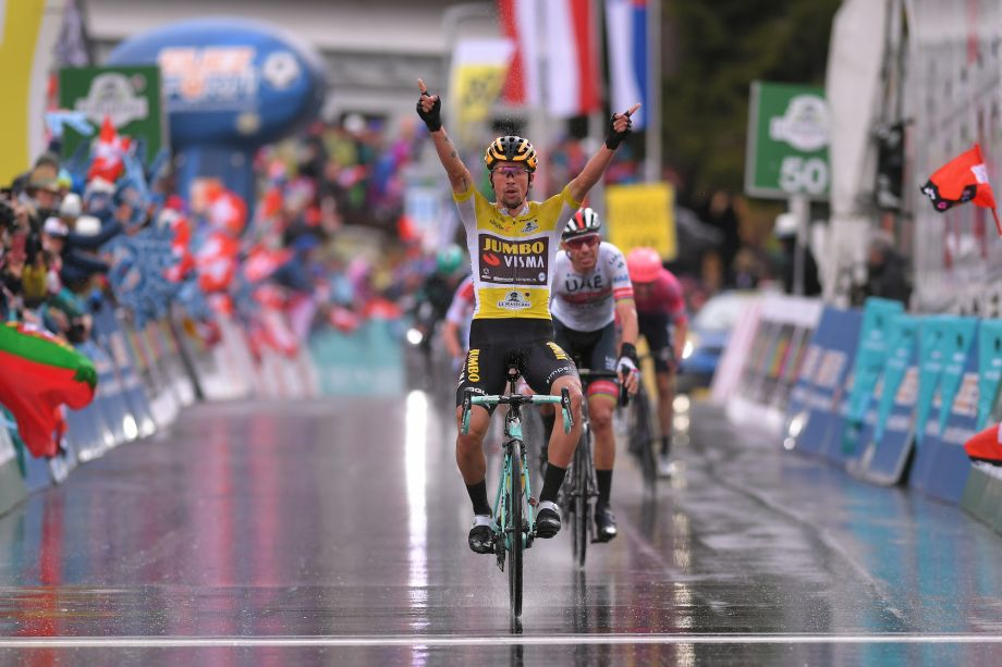 Primož Roglič wins stage four and consolidates overall classification in the Tour de Romandie 2019