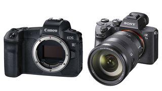 Canon EOS R vs Sony A7iii