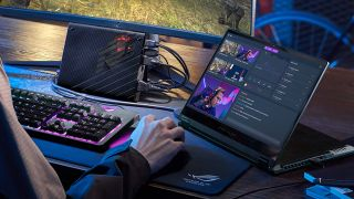 best 2-in-1 laptop of CES 2021 ROG Flow X13 gaming
