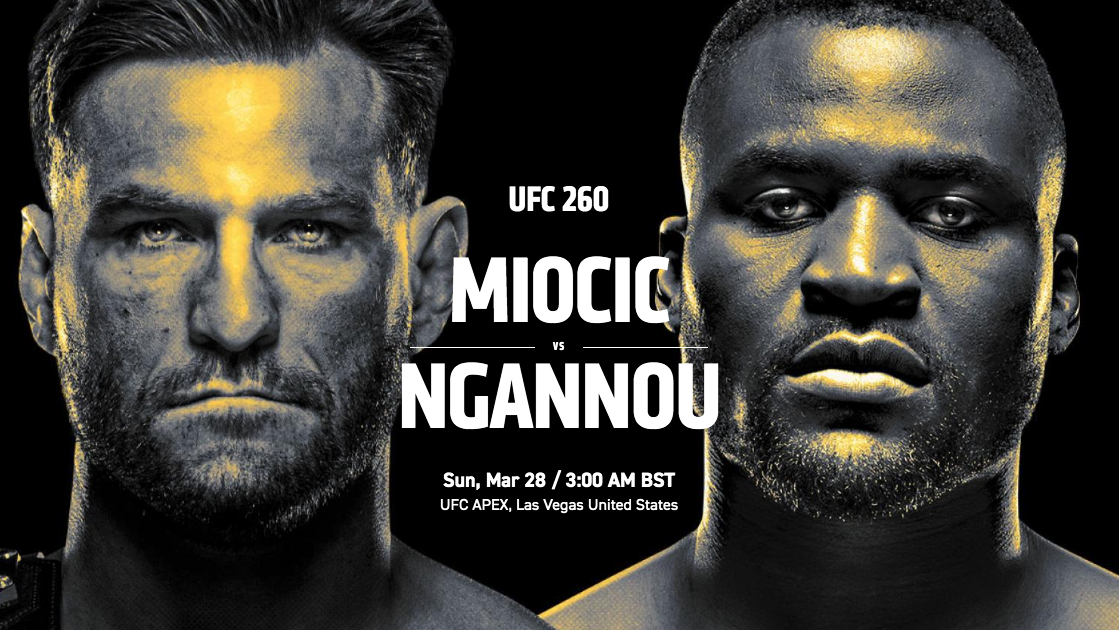 UFC 260 free live stream: Miocic vs Ngannou 2 full fight, start time, main event, pay-per-view | What Hi-Fi?