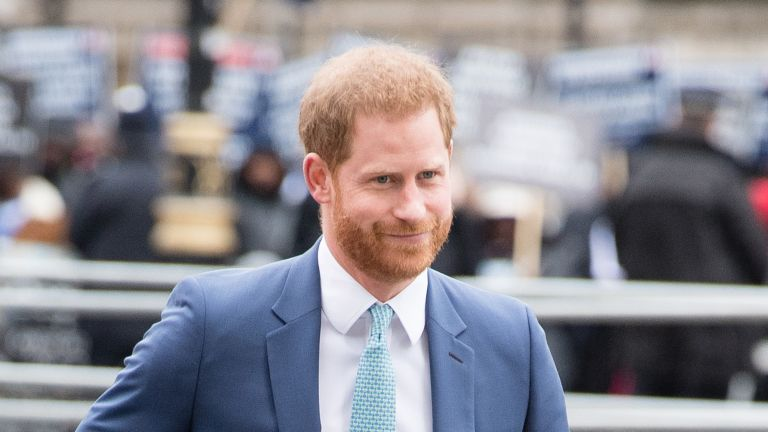 Prince Harry, Duke of Sussex attends the Commonwealth Day Service 2020 on March 09, 2020 in London, England