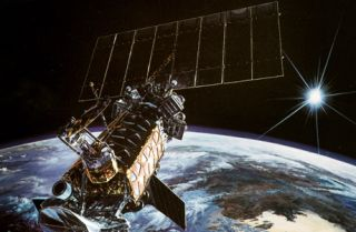 DMSP weather satellite