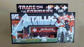 Metallica Optimus Prime